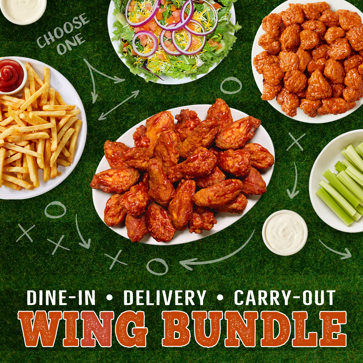 Fox and Hound Wing Bundle